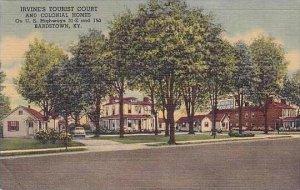 Kentucky Bardstown Irvines Tourist Court