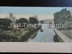 c1902 - Bath, from North Parade Bridge - Undivided Back 160515
