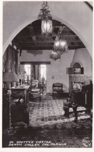 California Death Valley The Music Room Death Valley Scotty's Castle Real...