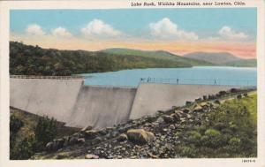 Lake Rush Dam , LAWTON , Oklahoma , 1920s