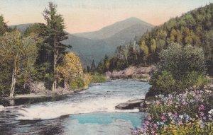 LAKE PLACID, New York, 1900-10s; Ausable River & Whiteface Mountain, Adironda...