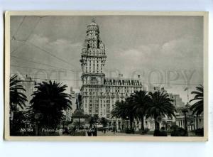 192215 Uruguay MONTOVIDEO Palacio Salvo Vintage photo postcard