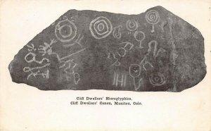 LPS29 Manitou Colorado Cliff Dwellers' Hieroglyphics Cliff Dwellers' Canon