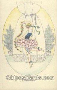B.K.W. I. 423-1 Artist Signed Mela Koehler Unused