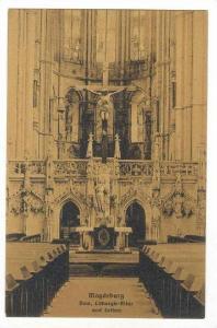 Dom, Lithurgie-Altar Und Lettner, Magdeburg, Germany, 1900-1910s