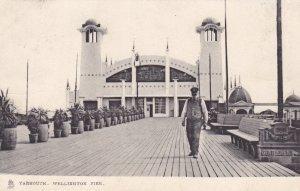 YARMOUTH, Nova Scotia, 1900-10s; Wellington Pier; TUCK 2044