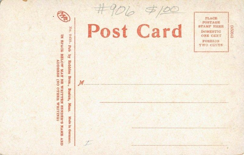 Solon Maine~South Main Street Homes~Picket Fences~Dirt Road~c1908 Postcard