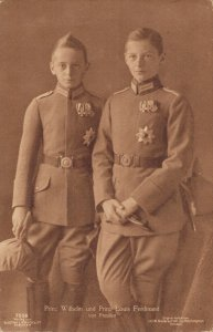 Prince Wilhelm and Prince Louis Ferdinand of Prussia Germany 06.81