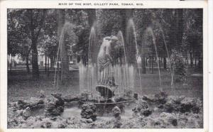 Wisconsin Tomah Maid Of The Mist Fountain Gillett Park