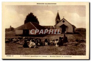 India -India- Apostolic Prefecture of & # 39Assam -Carte Old Post