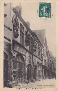 REIMS, Marne, France, PU-1909; La Maison Des Musiciens