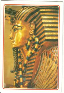 Egypt, The Golden Mask of King Tut Ankh Amoun unused Postcard
