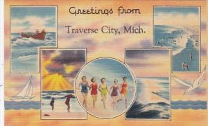 Michigan Greetings From Traverse City