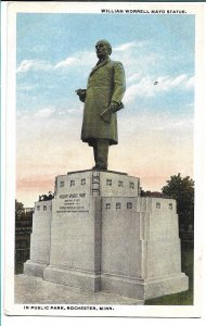 Rochester, MN - William Worrell Mayo Statue