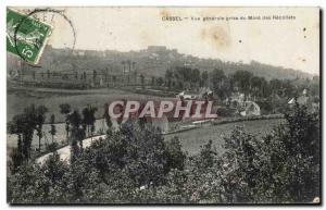 Old Postcard Jack Cassel Vue Generale Du Mont Des Recollets