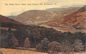 19535  Aerial View of  White River Valley from Liberty Hill Rochester VT