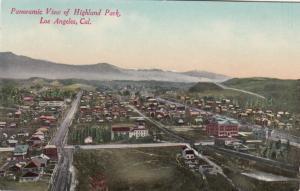 LOS ANGELES, California, 00-10s ; Panoramic View of Highland Park