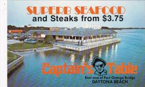 Florida Daytona Captain's Table Restaurant