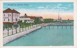 Florida St Augustine Sea Wall