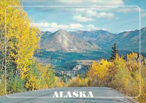 Alaska McKinley Autumn Scene