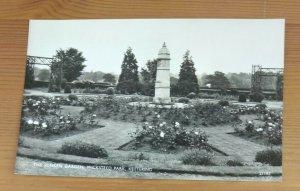 The Sunken Gardens Wickstead Park Kettering   Real Photo  Vintage  Postcard L1A