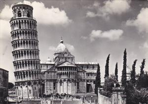 Italy Pisa Torre Pendente Abside del Duomo Photo