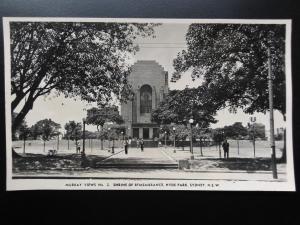 Australia: SYDNEY Shrine of Remembrance, Hyde Park RP PC