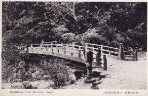 Momijidani Park Itsukushima Miyajima Antique Japanese Postcard