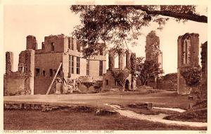 United Kingdom, Great Britain, England Kenilworth Castle Leicester Building f...