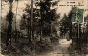 CPA POIX - La Passerelle du Bois de Croixrault (514852)
