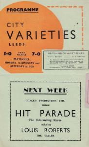 Phyllis Dixey Queen Of Striptease Burlesque Yorkshire Old Leeds Theatre Progr...