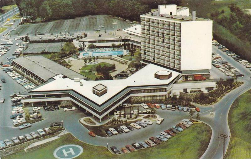 Aerial VIew, The Inn on the Park Motor Hotel, Toronto, Ontario, Canada, 40-60´s