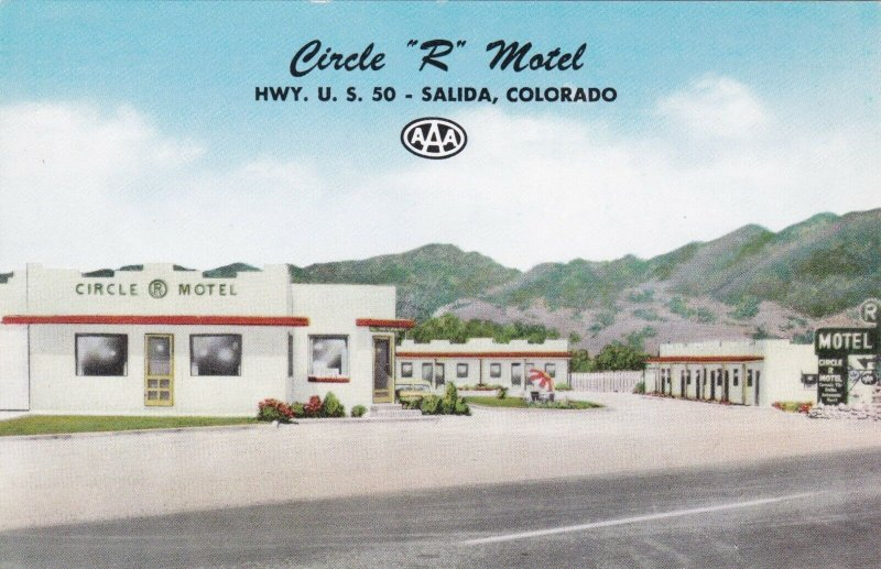 Colorado Salida Circle R Motel sk939