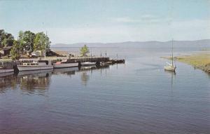Saint-Jean Port-Joli , Quebec , Canada , 50-60s ; Port De Plaisance