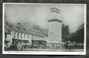 4709 - UK JERSEY St Helier 1950s War Monument. Cenotaph. Real Photo Postcard