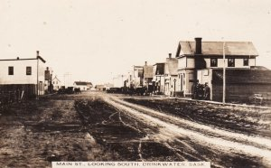 RP:  DRINKWATER , Saskatchewan , Canada , 00-10s , Main Street , Looking South