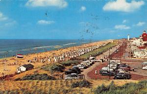 Netherlands Noordwijk aan zee Kon. Wilhelmina Boulevard Vintage Cars Auto