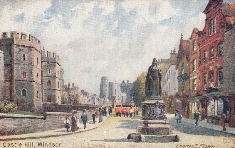 AS: TUCK 7939; WINDSOR, England, 1900-10s; Castle Hill