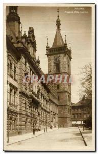 Postcard Old Praha Novoměstská Radnice