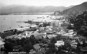 #20. Foto Magda. Real Photo Postcard. Manzanillo, Col. Mexico Panorama