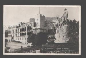 084398 Monaco Le Palais prince Monument Commemomoratif