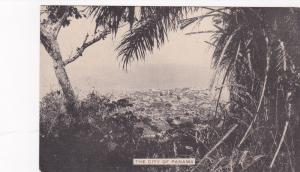 PANAMA, 1900-10s; Aerial view of the City of Panama
