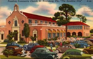 Florida St Petersburg Pasadena Community Church 1957