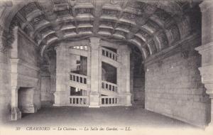Le Chateau, La Salle Des Gardes, CHAMBORD (Loir et Cher), France, 1900-1910s