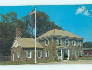 Unused Pre-1980 POST OFFICE Hyde Park - Near Poughkeepsie New York NY d8575