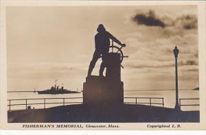 Wassachusetts Gloucester Fisherman's Memorial Real Photo