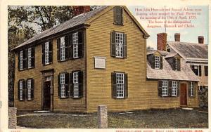 Hancock-Clarke HouseLexington, Massachusetts