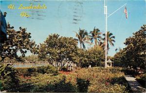 Patricia Murphy Restaurant Gardens Fort Lauderdale Florida Postcard