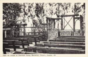 Open Air Chapel At Glenmohr Camp, Beaverton, Ontario, Canada, PU-1952