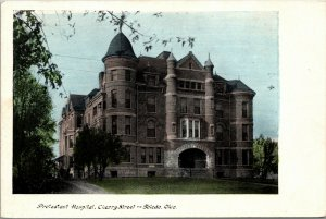 Postcard TOLEDO Ohio/OH  Early 1900's Local Protestant Hospital Building
